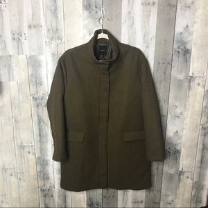Forever 21 Premium Label Olive Green Coat